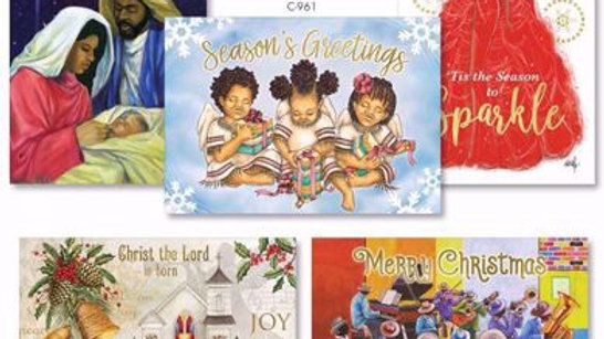African American Holiday Card Assortment