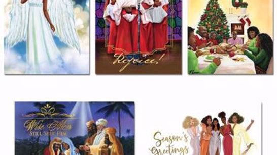 African American Holiday Cards