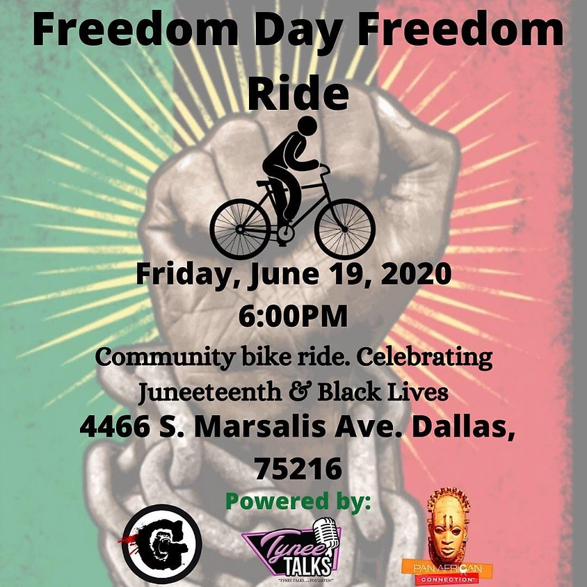 Juneteenth 'Let's Ride For Our People' Community Bike Ride