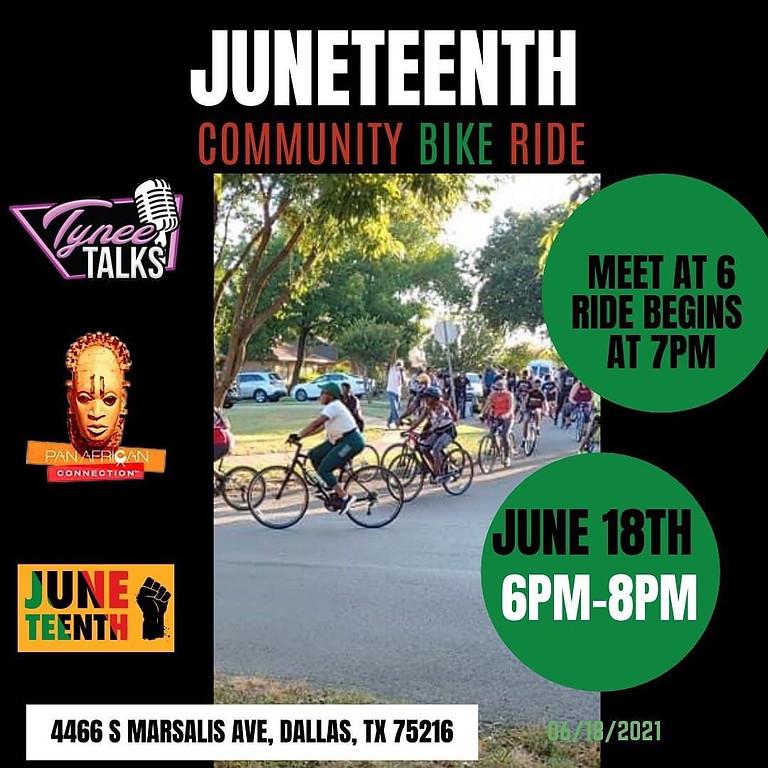 Juneteenth Community Bike Ride