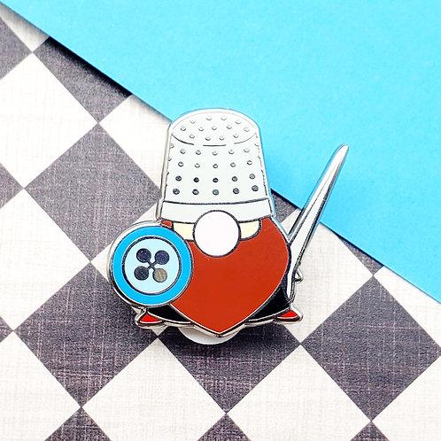 Gnome Gnight Enamel Pin