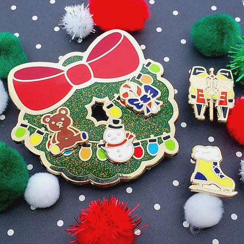 Holiday Token Pin Collection