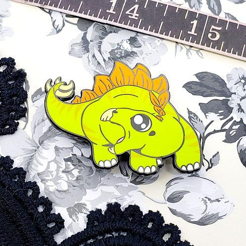 Stegosaurus Enamel Pin