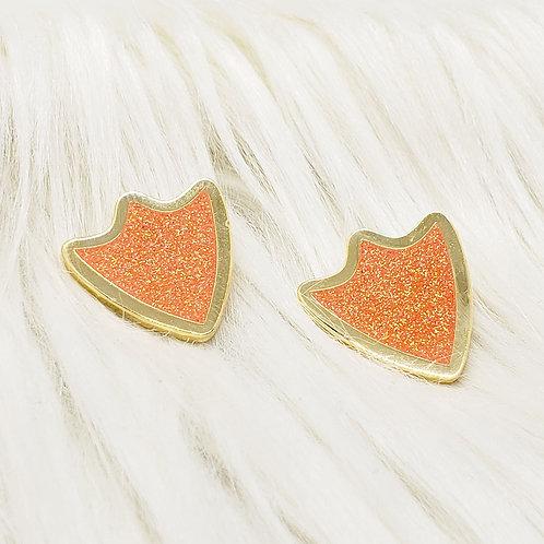 Glitter Duck Footprints Enamel Pin Set