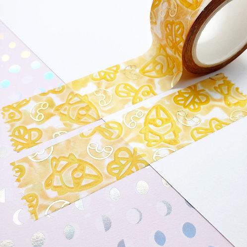 Send (G)Noods Gold Foil Washi Tape