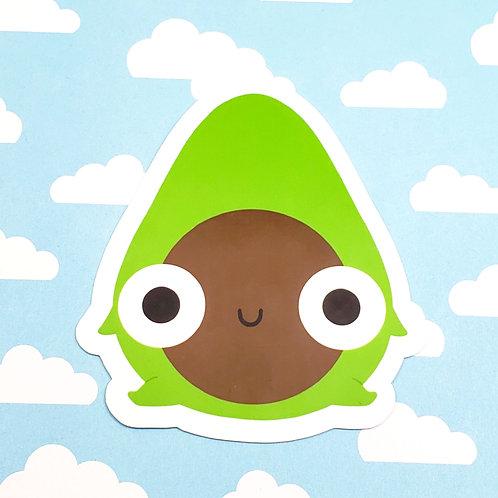 Chonky Arlen Avocado Sticker