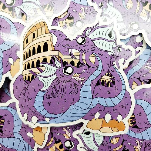 Colosseum Dragon Sticker