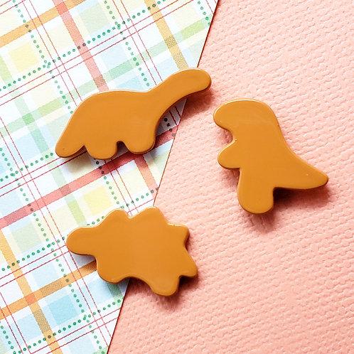 Dino Nuggs Mini Pin Set