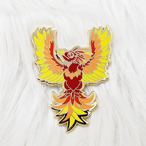 Classic Phoenix Enamel Pin