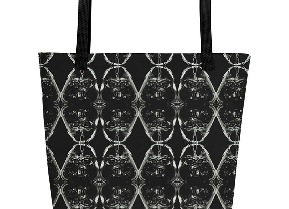 Darth Vader Print Beach Bag