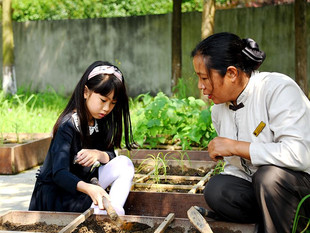 Shangri-La Hotel, Guilin Engages Guests with a One Meter Vegetable Garden