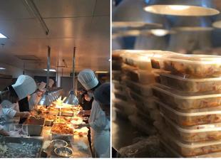 Shangri-La Hotel, Wuhan Prepares Meals For Medical Professionals During Virus Outbreak