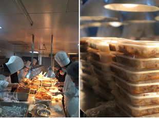 Shangri-La Hotel, Wuhan Prepares Meals For Medical Professionals During Virus Outbreak