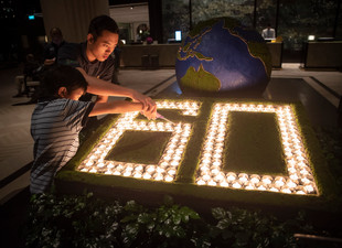 Shangri-La Group Connects To Nature During Earth Hour