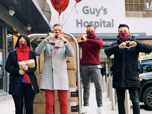 Shangri-La Hotel, At The Shard, London Delivers A Sweet Valentine's Day For Frontline Workers