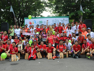 Shangri-La Hotel, Surabaya Celebrates 20th Birthday by Raising Funds for Local Charity