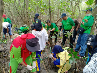 Shangri-La Hotel, Surabaya Celebrates World Wetlands Day With Mangrove Planting And Bird Release Act