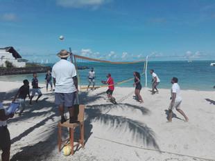 Shangri-La's Le Touessrok Resort & Spa, Mauritius Hosts Inter-Departmental Beach Volleyball Tour