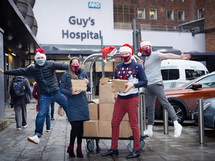 Shangri-La Hotel, At The Shard, London Delivers Holiday Cheer To Frontliners