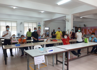 Back To School: Hotel Jen Penang Helps Embrace Beneficiary Prepare For First Day Of School