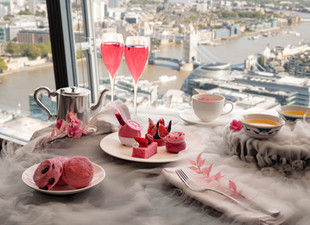 Women Fighting Breast Cancer Inspire Shangri-La Hotel, At The Shard, London's Pink Afternoon Tea