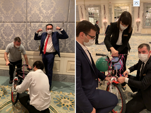 Shangri-La Bosphorus, Istanbul Donates Bicycles To Children In Need