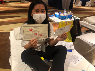 Hotel Jen Manila Participates In Blood Drive To Save Lives