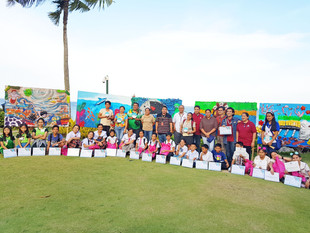 "Shangri-La's Mactan Resort & Spa, Cebu Supports Creativity and Conservation with ""Trash To Art"""