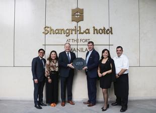Shangri-La at the Fort, Manila Achieves LEED Gold Status