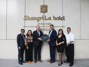 Shangri-La at the Fort, Manila Achieves LEED Gold Status