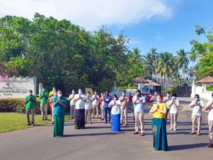 Shangri-La's Hambantota Golf Resort & Spa, Sri Lanka Plants Trees For Sri Lankan New Year