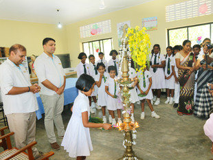 Shangri-La's Hambantota Golf Resort & Spa, Sri Lanka Commemorates Third Anniversary With School