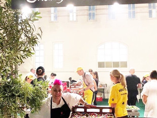 Punk Princess of Pastry Anna Polyviou Leads Shangri-La Hotel, Sydney Team at OzHarvest CEO Cook Off