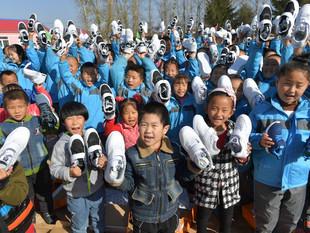 Shangri-La Hotel, Changchun Visits Students and Teachers at Xinjia Village Primary School