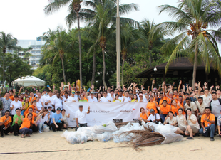Shangri-La Group Beautifies Beaches On International Coastal Cleanup Day
