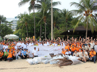 Shangri-La Group Beautifies Beaches On International Coastal Cleanup Day