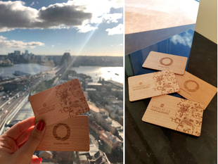 Shangri-La Hotel, Sydney Expands Sustainable Initiatives With Wooden Key Cards And Just Water