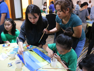 Hotel Jen Manila Hosts Painting Workshop with EMBRACE Beneficiary and Local Artist