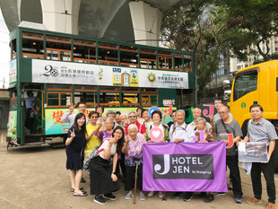 Hotel Jen Hong Kong Spends Autumn Engaging With The Elderly Community And Cleaning The Environment