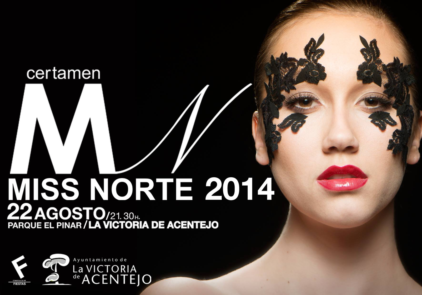 Cartel oficial Miss Norte 2014