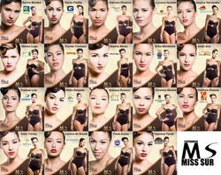 Candidatas Miss Sur 2013