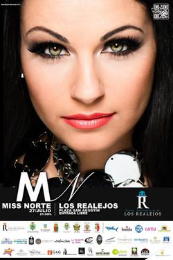 Cartel oficial Miss Norte 2013