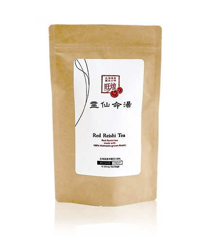Tea Decoction Red Reishi Alumi Pack 15