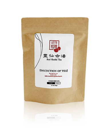 we are usind red reishi for this product