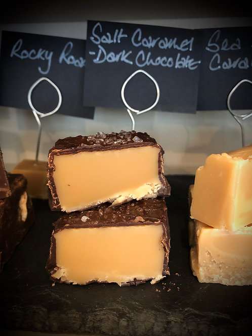 Dark Chocolate salted caramel