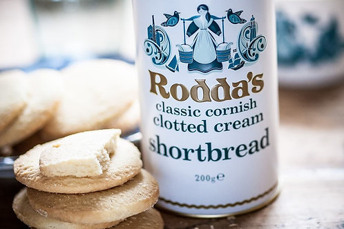 Rodda's clotted cream shortbread churn