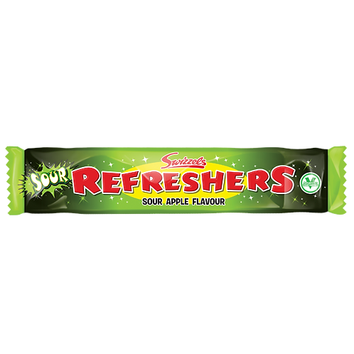 Refreshers Chew Bar Sour Apple