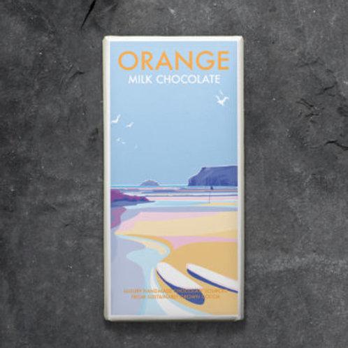 Milk chocolate orange