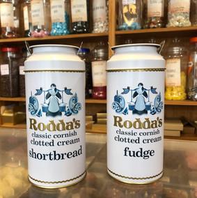 Roddas fudge or biscuit tin churns