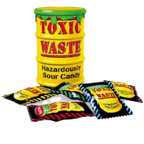 Yellow Toxic Waste
